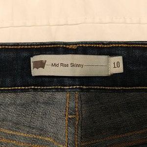 Levi's Jeans - Levi's mid-rise skinny